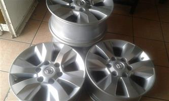 17'' Toyota Hilux new shape mags