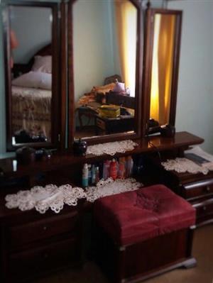 Solid Wood Bedroom Suite for sale