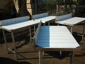 stainless steel tables new n used