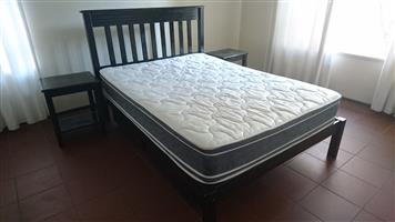 BARGAIN Double Bed, Side Tables and Draws