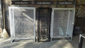 Gas Bottle Safety enclosures and General Steelwork.