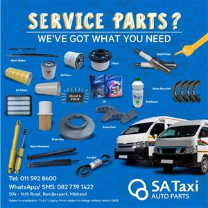 Taxi Service Parts - SA Taxi Auto Parts quality new and used spares