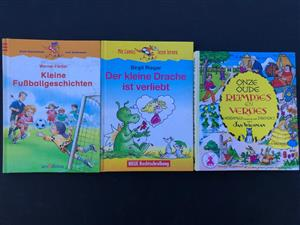A set of 3 German kiddies story books - price for all 3 books
