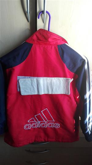 Slightly used branded kids jackets and leather ones