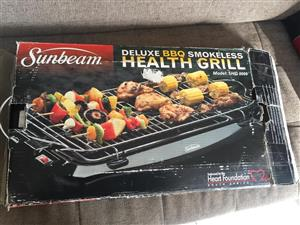 Sunbeam Health Grill / braai - Similar to the very popular Estia health griller