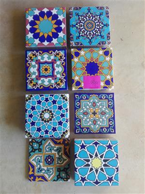 handcrafted tiles mosaic