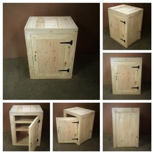 Kitchen Cupboard Base unit Farmhouse series 700 with 1 door Raw