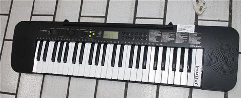 CASIO KEYBOARD IN BOX WITH POWER CABLE S039534A #Rosettenvillepawnshop