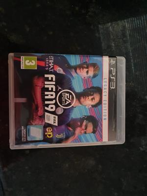 Fifa 2019 PS 3 Game for sale