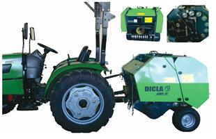 Dicla DMB70 Mini Round Baler / Mini Ronde Baler New Implement