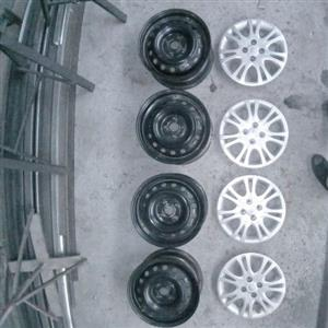 Rims and hub caps only