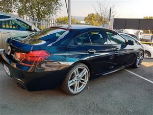 2013 BMW 6 Series 650i Gran coupe M Sport
