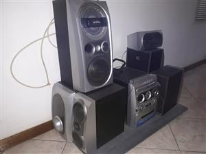 Surround sound 3 tray DVD player