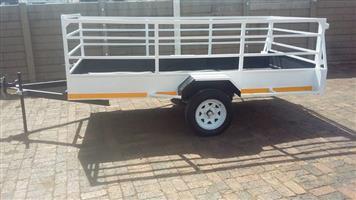 3 m × 1.5 m single axle trailer