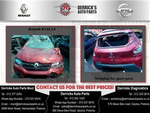 Renault Kwid Stripping For Used Spares