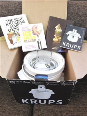 Krups Ice Cream Maker Model GVS1