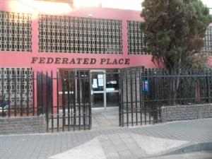 Federated Place 1bedroomed flat to renbt for R3200