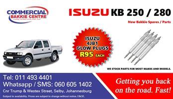 isuzu 4jb1 glow plug