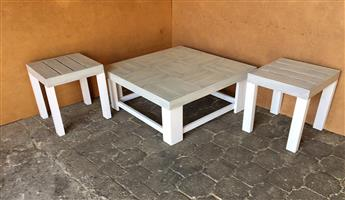 Coffee table Farmhouse series 1090 Combo version 2 - Two toned