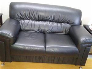 Bonded leather couches