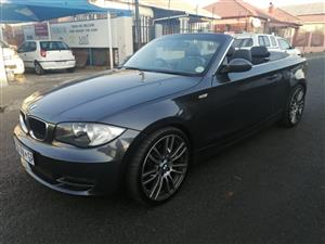 2008 BMW 1 Series 125i convertible