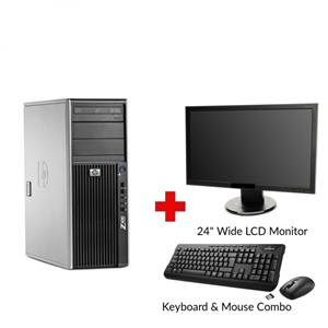 HP Z-400 Workstation Graphic Design Tower PC
