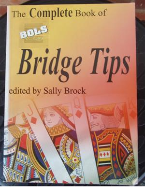 The Complete book of BOLS Bridge Tips - by Sally Brock