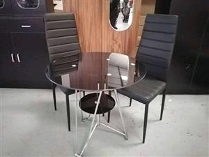 Brand new 3 piece table sets excellent quality in boxes