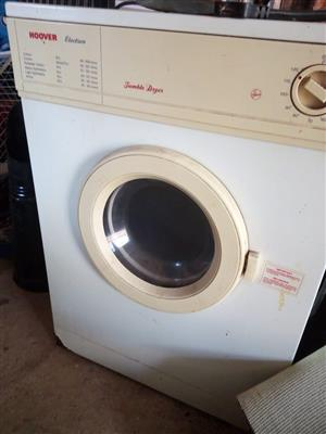 *** HOOVER ELECTRON D6500 5KG TUMBLE DRYER ***