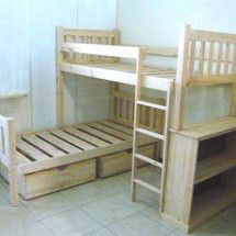 Lshape bunks