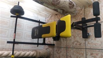 Like new Gym equipment for sale or swap