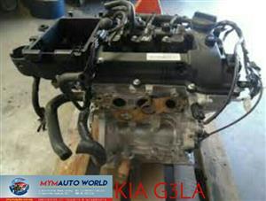Imported used  engines. Complete second hand used KIA G3LA engine
