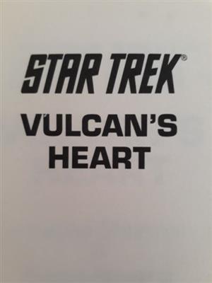 Star Trek - Vulcan's Heart - Josepha Sherman.