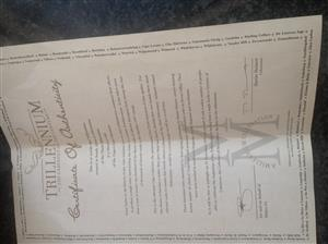 1997 Trillennium Cabernet Sauvignon