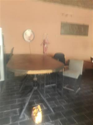 Poker table and bar chairs Germiston