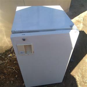 White bar fridge