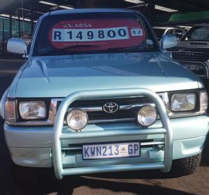 2000 Toyota Hilux double cab HILUX 2.7 VVTi RB S P/U D/C