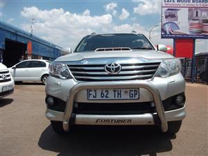 2012 Toyota Fortuner 3.0D 4D 4x4 auto