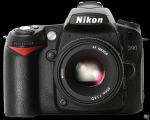 Nikon D90 SLR Camera