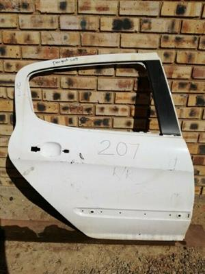 Peugeot 207 Right Rear Door  Contact for Price