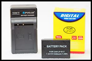 LP-E17 Battery & Charger Combo for Canon