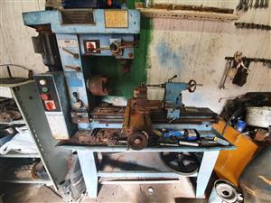 220v lathe and milling machine combo