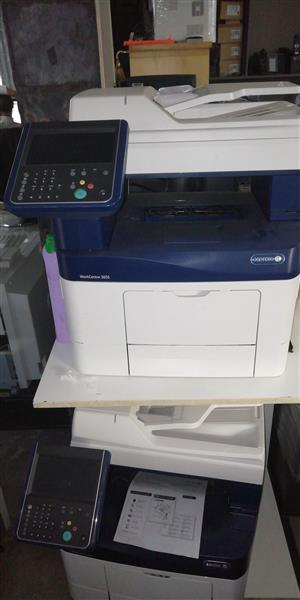 Xerox Workcentre 3655 black and white multi functional copier for sale