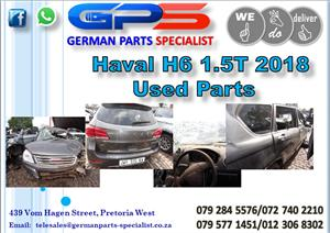 Used GWM Haval H6 1.5T 2018 Parts for Sale