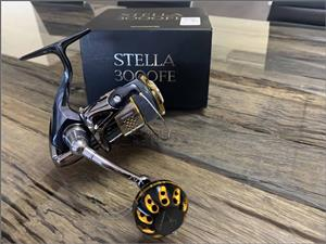 Shimano Stella 3000FE Spinning reel Gomexus upgrade - as new immaculate and spotless