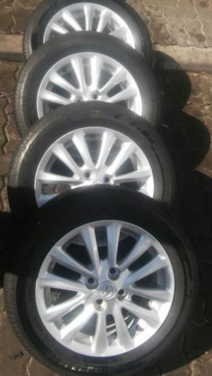Used Toyota For Sale >> toyota runx in Wheels and Hubs in South Africa | Junk Mail