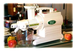 Green star twin screw slow masticating juicing machine .Top quality machine in very good condition.
