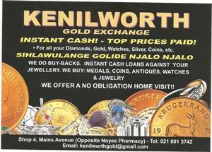 Kenilworth Cash For Gold
