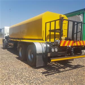 HINO  15-258  WATER  TANKER  16000 LT  READY  TO  GO  AND  WORK  HYDRAULIC  WATER  PUMP