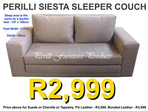 PERILLI SIESTA ​FOLDING SLEEPER COUCHES